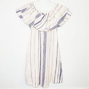 NWOT GIRL KRAZY | Off the Shoulder Stripe Dress
